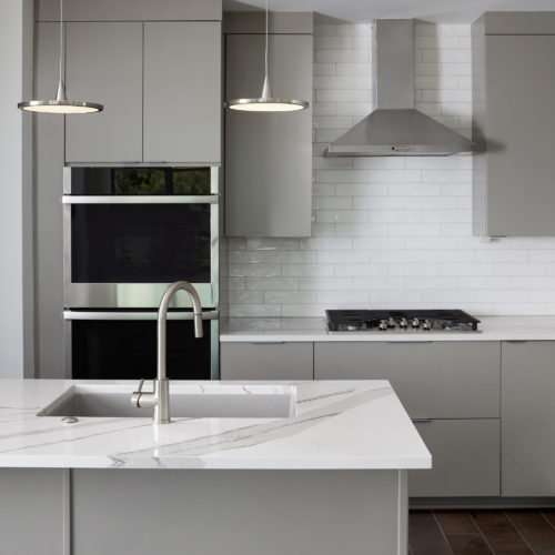 Forty 9 Place Row Homes Kitchen